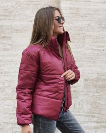 Куртка зимняя на синтапоне 46/48р(см.замеры)