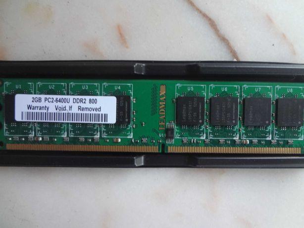 Memoria RAM DDR2 2Gb PC2-6400 DDR2-800MHz