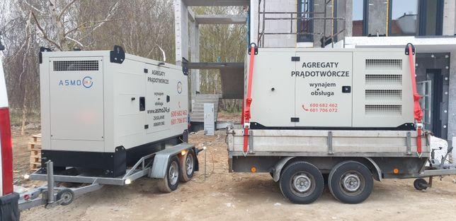 Wypożyczanie agregatów prądotwórczych z dostawą