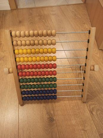 Liczydło drewniane Ikea