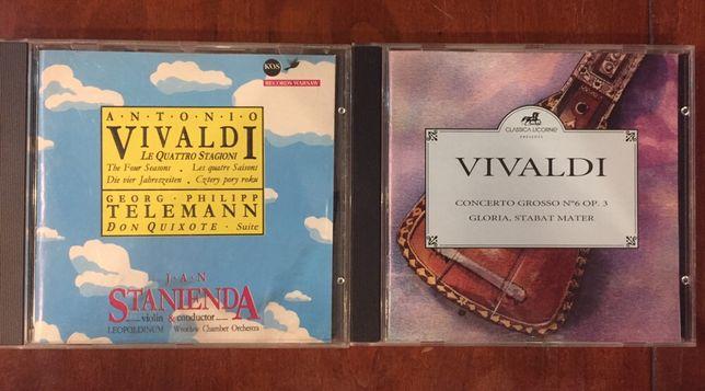 VIVALDI  Cztery pory roku;Concerto Grosso;Gloria;Sabat Mater CD