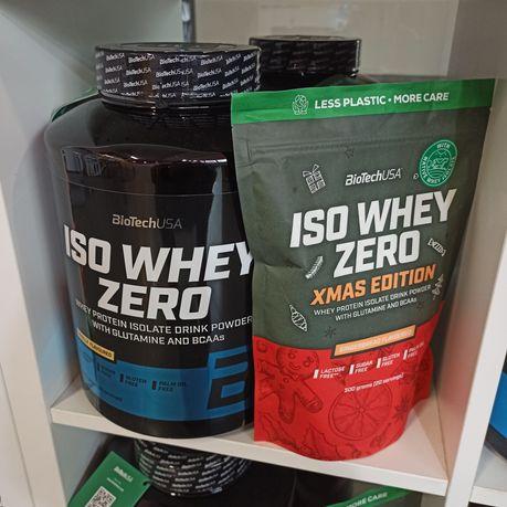 PROMOCJA Biotech ISO Whey Zero 2270g+500g Izolat białka WPI , Białko
