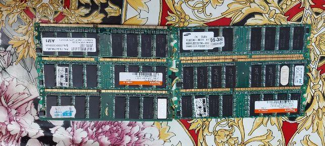 20ГРН DDR1 256mb, 512mb Проверены рабочие. Все вместе на 30% ДЕШЕВЛЕ