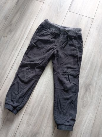 Spodnie jak jeans ale sztruksowe joggersy