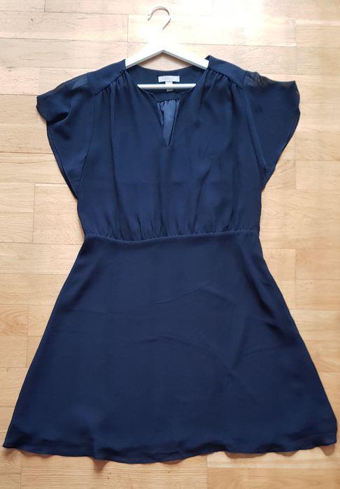 Sukienka granatowa h&m rozmiar 42 wysyłka gratis Krzywaczka - image 1