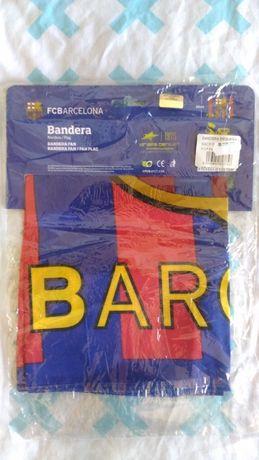 bandeira fan Barcelona.