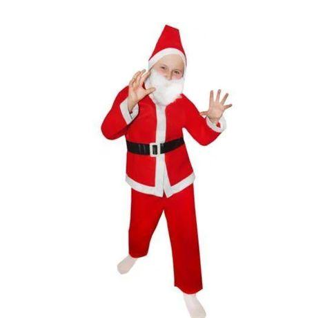 Костюм Санта Клаус НОВЫЕ детские (ЛЮБОЙ ВОЗРАСТ) Дед Мороз