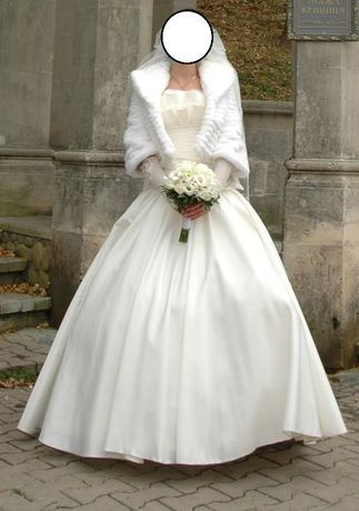 Sprzedam szczęśliwą sukienkę ślubną