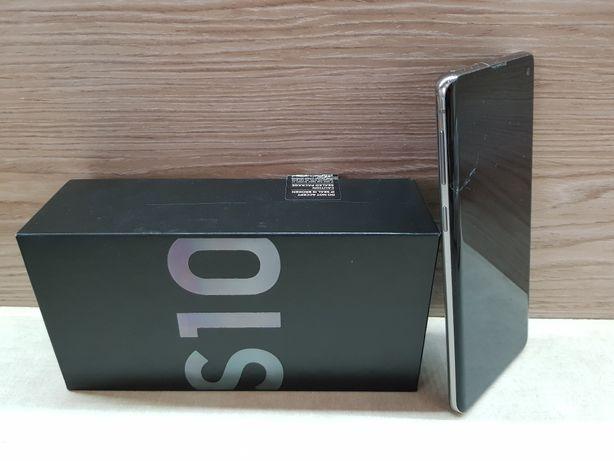 Samsung S10 lekko uszkodzony rok gwarancji