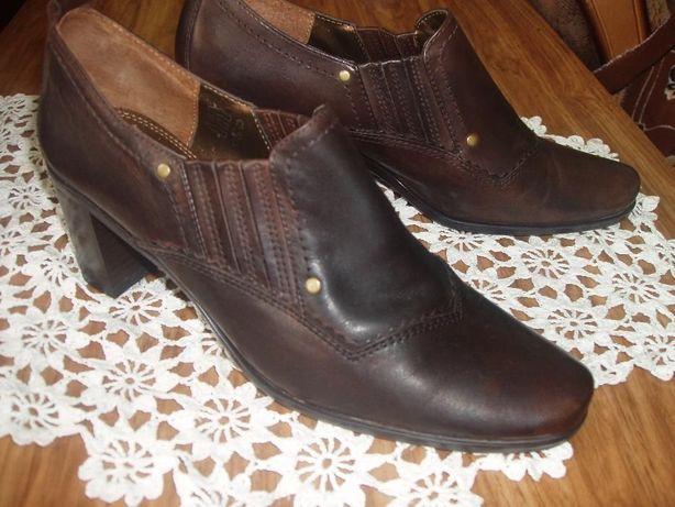 Bata кожаные полуботинки 39 размер