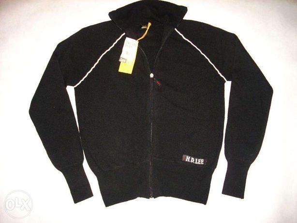 NOWY sweter z wełną zamek M L