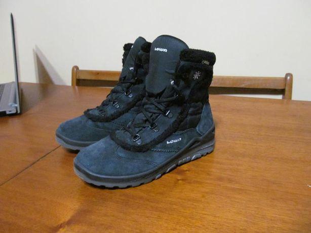Ботинки Lowa Klara GTX Mid Gore-tex Зима 39р. стелька 25 см.