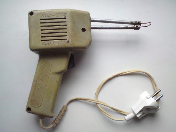 Паяльник импульсный ЭПСИ - 65, СССР (в ремонт или на детали)