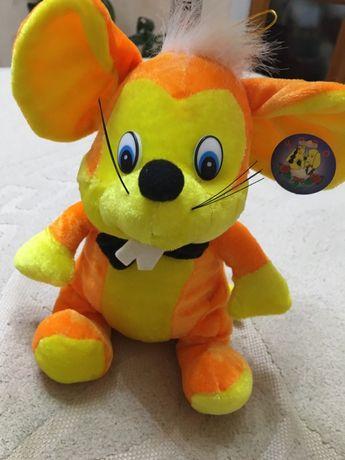 мышка мягкая игрушка