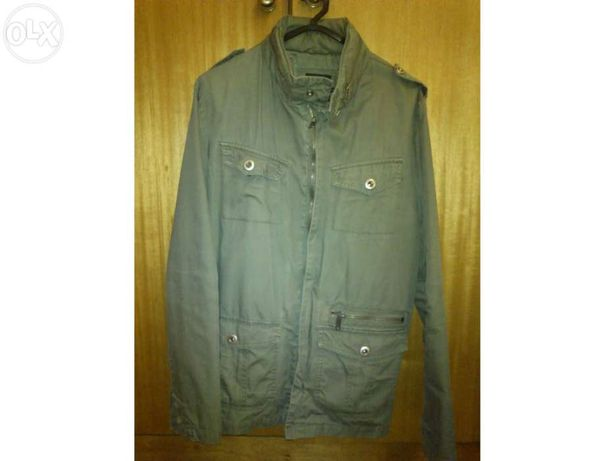 Casaco Verde Pull and Bear L