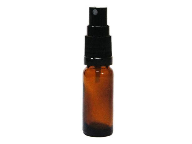 Butelka szklana 10 ml z atomizerem brązowa do olejków spray