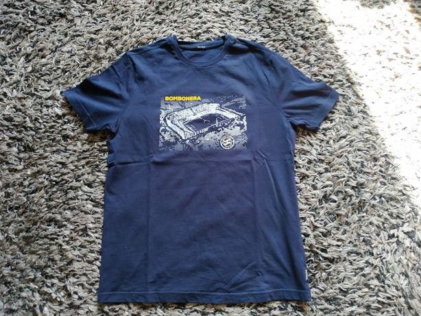 T-shirt Three Stroke bomboniera r.M casual/fred perry/boca juniors