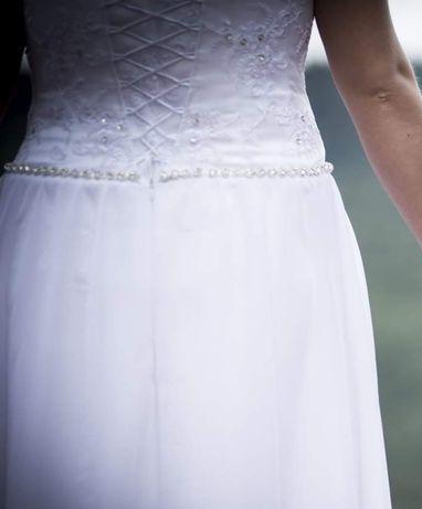 Przepiękna suknia slubna delikatna