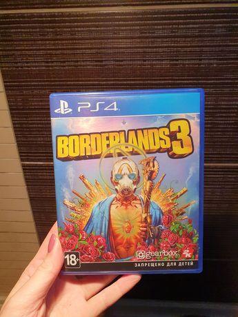 Диск PS4 с игрой Borderlands 3