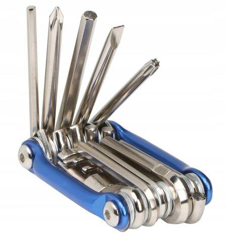 Zestaw Kluczy Rowerowych Roweru Imbus Klucz 11 w 1 super jakość niezbę