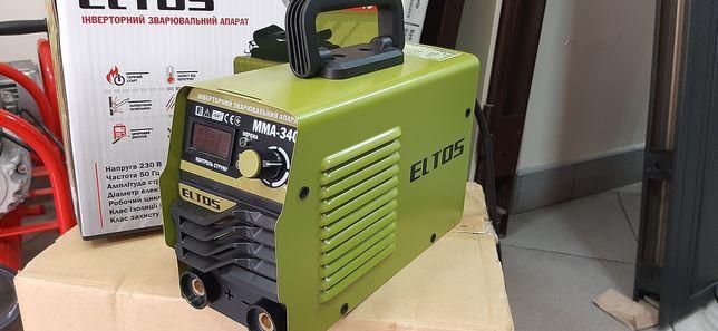 Инверторный сварочный аппарат Eltos MMA 340 Дисплей новый гарантия 1 г