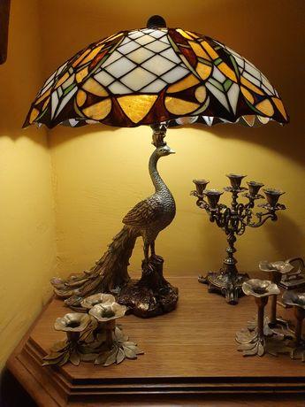 Lampa tiffany stołowa