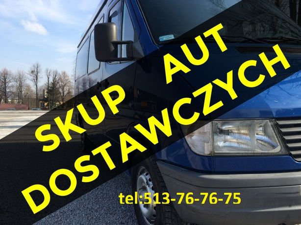 SKUP aut samochodów dostawczych Mercedes Sprinter Kaczka Master