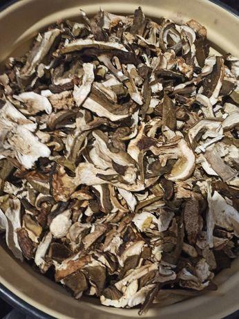 Гриби сушені білі, лисичка, опеньки і інші