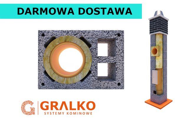 Komin 7m KW2 ocieplony System Kominowy Ceramiczny KOMPLETNY