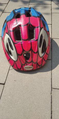 Kask rowerowy dziecięcy Spiderman