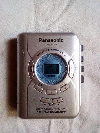 Walkman Panasonic RQ-CR07V z radiem, autorevers - sprawny