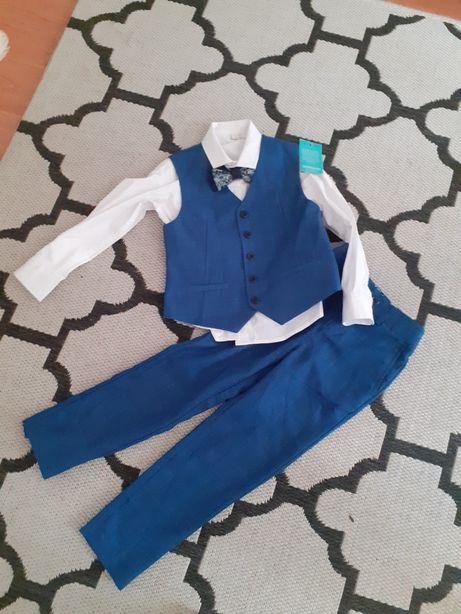 Eleganckie ubranko dla chłopca na 6 lat firmy monson nowe