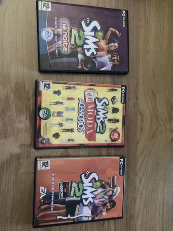 Discos de expansão para The Sims 2