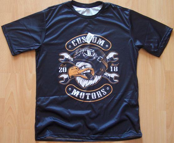 T-shirt Custom Motors termoaktywna