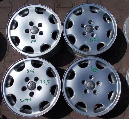 Felgi aluminiowe Audi 5x112 6Jx15 ET45 Nr.506