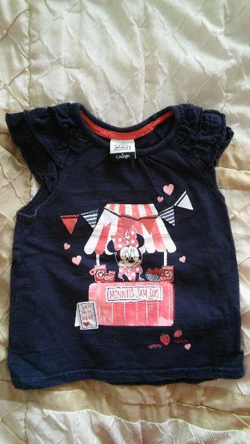 Bluzka T-shirt Myszka Minnie 92-98 cm