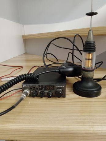Radio CB M-TECH legend II plus antena
