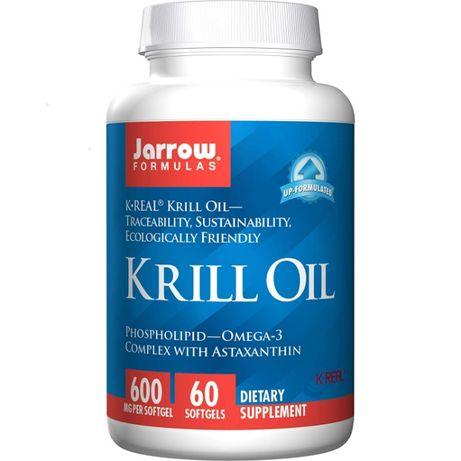 Jarrow Formulas, Krill Oil Omega-3 Complex Масло криля 600 мг 120 капс