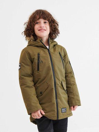Новая зимняя парка куртка для мальчика Reserved 128
