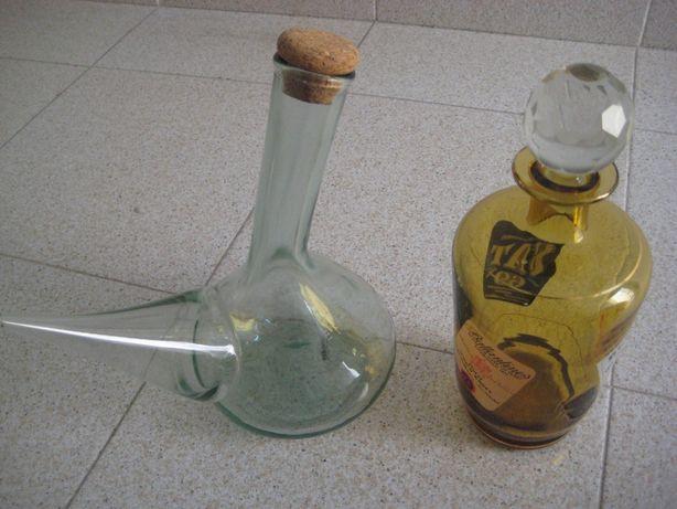 garrafas em vidro
