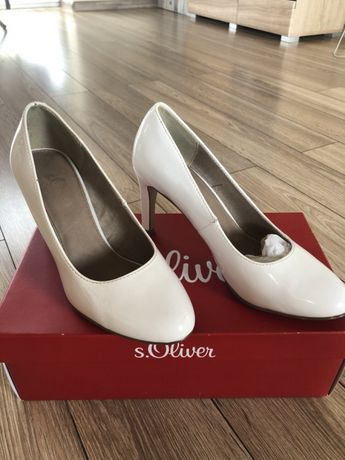 Buty ślubne s.Oliver rozmiar 38