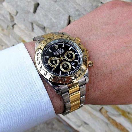 Мужские металлические часы Rolex Daytona, чоловічий годинник Ролекс