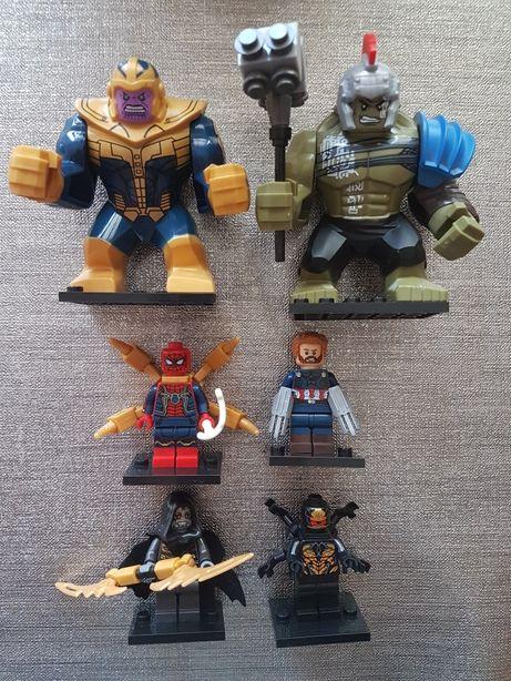 Figurki avengers jak lego NOWE!