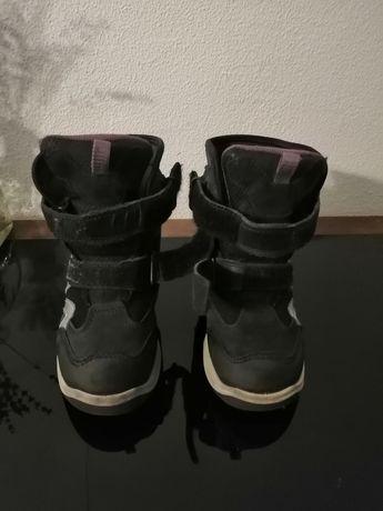 Зимние ботинки на мальчика Ecco snow