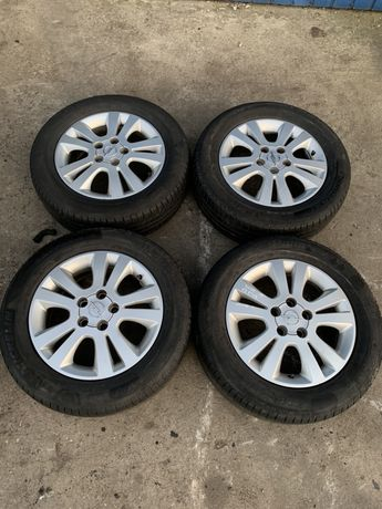 "Kola aluminiowe Opel Signum Vectra C Zafira 5x110 16"" 6J ET49 MICHELIN"