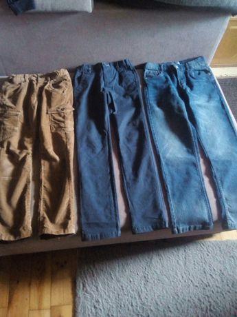 Spodnie chłopięce roz. od 128-140