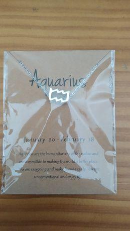 Colar signo aquário