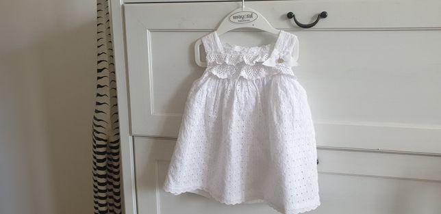 Sukienka do chrztu Mayoral
