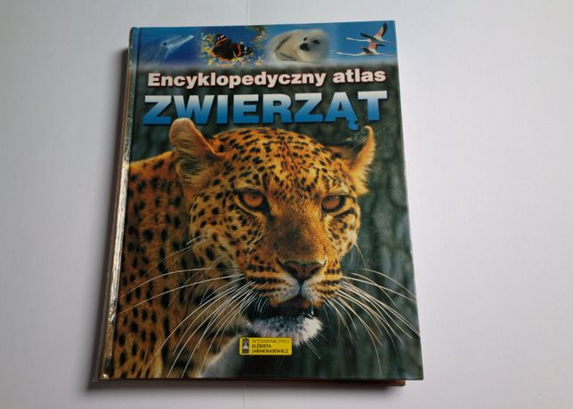 Piękny album: Encyklopedyczny atlas zwierząt (twarda okładka, 300 str)