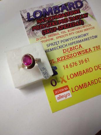 Złoty pierścionek PR.585 Waga 4,37g r.15 ! Lombard Dębica